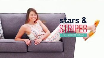 Ashley HomeStore Stars & Stripes Event TV Spot, 'Incredible Doorbusters' Song by Midnight Riot
