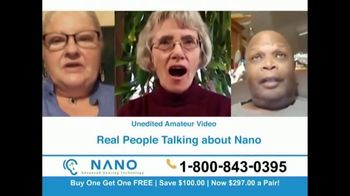 Nano Hearing Aids TV Spot, 'Buy One, Get One Free'
