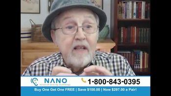 Nano Hearing Aids TV Spot, 'Buy One, Get One Free'