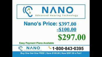 Nano Hearing Aids TV Spot, 'Buy One, Get One Free' - Thumbnail 5
