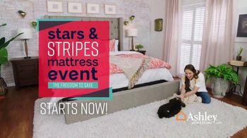 Ashley HomeStore Stars & Stripes Mattress Event TV Spot, 'Beautyrest Adjustable Sets' - Thumbnail 2