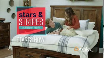 Ashley HomeStore Stars & Stripes Event TV Spot, 'Save 30 Percent on Dining Table' Song by Midnight Riot