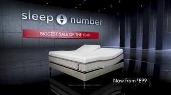 Sleep Number Biggest Sale of the Year TV Spot, '36-Month Special Financing' - Thumbnail 1