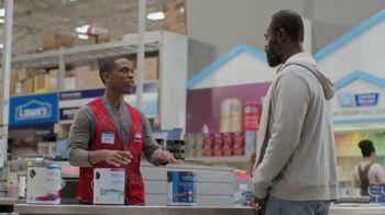 Lowe's Labor Day Savings TV Spot, 'Do It Right: Valspar Paint + Primer' - Thumbnail 4