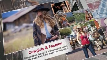 Cowgirl Magazine TV Spot, 'Cowgirl Is for Women'
