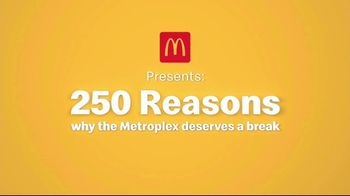 McDonald's Break Menu TV Spot, '250 Reasons' - Thumbnail 2