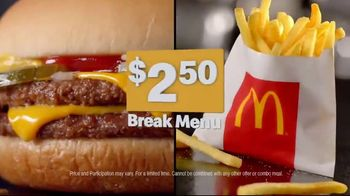 McDonald's Break Menu TV Spot, '250 Reasons' - Thumbnail 8