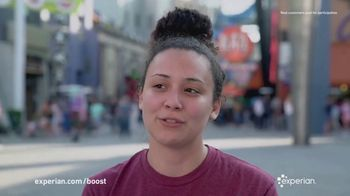 Experian Boost TV Spot, 'Testimonial: It Helps Me Keep on Moving'