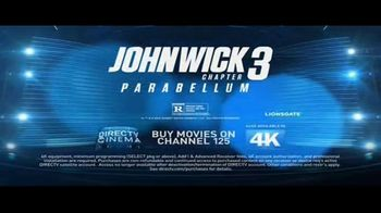 DIRECTV Cinema TV Spot, 'John Wick: Chapter 3 – Parabellum' - Thumbnail 8