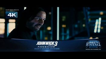 DIRECTV Cinema TV Spot, 'John Wick: Chapter 3 – Parabellum' - Thumbnail 3