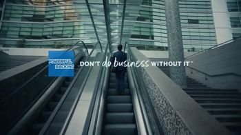 American Express TV Spot, 'Right Behind You: Business' - Thumbnail 9