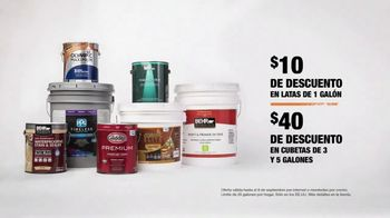 The Home Depot Labor Day Savings TV Spot, 'Colores' [Spanish] - Thumbnail 9