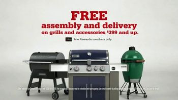 ACE Hardware Labor Day Sale TV Spot, 'Grills: Free Assembly, Delivery and Accessories Package' - Thumbnail 5