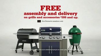 ACE Hardware Labor Day Sale TV Spot, 'Grills: Free Assembly, Delivery and Accessories Package' - Thumbnail 6
