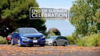Honda End of Summer Celebration TV Spot, 'Back to School' [T2] - Thumbnail 4