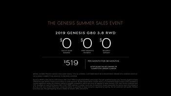 Genesis Summer Sales Event TV Spot, 'No-Brainer' [T2] - Thumbnail 7
