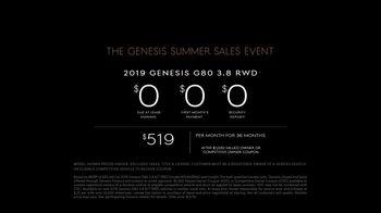 Genesis Summer Sales Event TV Spot, 'No-Brainer' [T2] - Thumbnail 8