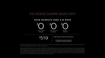 Genesis Summer Sales Event TV Spot, 'No-Brainer' [T2] - Thumbnail 9