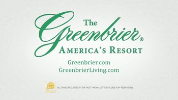 The Greenbrier TV Spot, 'The Legacy Lives On' - Thumbnail 9