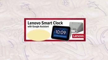Ashley HomeStore Labor Day Mattress Sale TV Spot, '60 Months No Interest and Lenovo Smart Clock' - Thumbnail 9