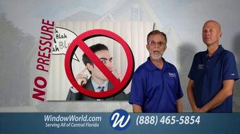 Window World TV Spot, 'No Commission'