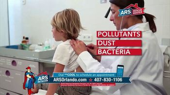 ARS Rescue Rooter TV Spot, 'Indoor Air Pollution'