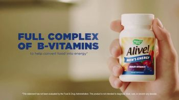 Nature's Way Alive! Multivitamin Gummies TV Spot, 'Alive & Thriving' - Thumbnail 4