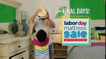 Ashley HomeStore Labor Day Mattress Sale TV Spot, 'Final Days: Adjustable Sets' - Thumbnail 3