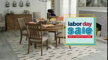 Ashley HomeStore Labor Day Sale TV Spot, 'Final Days: Dining' Song by Midnight Riot - Thumbnail 2