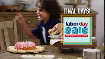Ashley HomeStore Labor Day Sale TV Spot, 'Final Days: Dining' Song by Midnight Riot - Thumbnail 3
