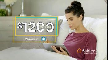 Ashley HomeStore Labor Day Mattress Sale TV Spot, 'Extended: Mattress Sets' Song by Midnight Riot - Thumbnail 4