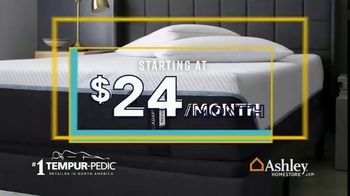 Ashley HomeStore Labor Day Mattress Sale TV Spot, 'Extended: Mattress Sets' Song by Midnight Riot - Thumbnail 8