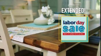 Ashley HomeStore Labor Day Sale TV Spot, 'Extended: Last Chance' Song by Midnight Riot