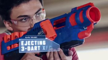 Nerf Elite Trilogy TV Spot, 'Let the Games Begin'