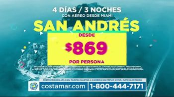 Costamar Travel TV Spot, 'Cartagena, San Andrés, Medellín, Cali y Bogotá' [Spanish]