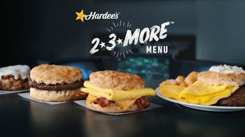 Hardee's 2 3 More Menu TV Spot, 'Makes Breakfast Simple'