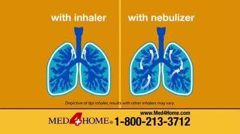 Med4Home Portable Nebulizer TV Spot, 'Breathe Easier' - Thumbnail 4