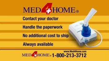 Med4Home Portable Nebulizer TV Spot, 'Breathe Easier' - Thumbnail 6