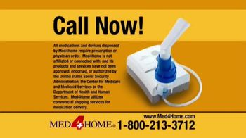 Med4Home Portable Nebulizer TV Spot, 'Breathe Easier' - Thumbnail 7