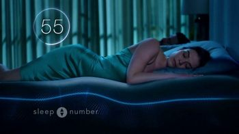 Sleep Number Biggest Sale of the Year TV Spot, '50 Percent & 36 Months No Interest' - 200 commercial airings