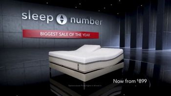 Sleep Number Biggest Sale of the Year TV Spot, '50 Percent & 36 Months No Interest' - Thumbnail 1