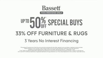 Bassett Labor Day Sale TV Spot, '33 Percent Off Storewide' - Thumbnail 7