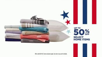 JCPenney Labor Day Sale TV Spot, 'Celebrate the End of Summer' - Thumbnail 8
