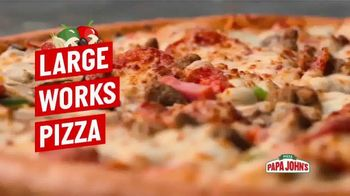 Papa John's TV Spot, 'This Is the Works'