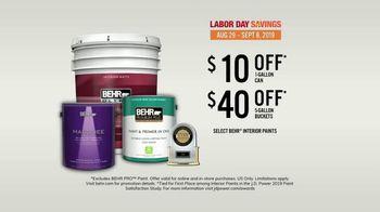 BEHR Paint Labor Day Savings TV Spot, 'Job Well Done' - Thumbnail 8