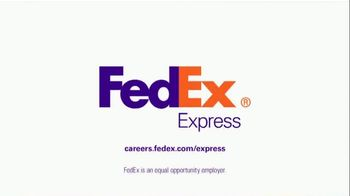 FedEx Express TV Spot, 'A Career That Takes Off' - Thumbnail 8