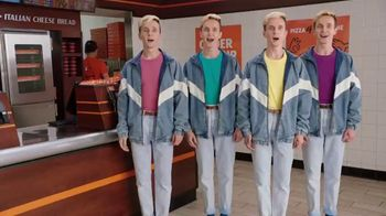 Little Caesars HOT-N-READY Quattro Pizza TV Spot, 'Quattro Brothers: Shoe Sizes' - Thumbnail 1