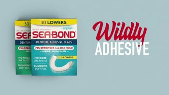 Sea Bond Denture Adhesive Seals TV Spot, 'Ribs' - Thumbnail 8