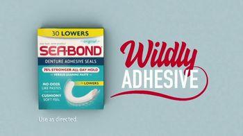 Sea Bond Denture Adhesive Seals TV Spot, 'Ribs' - Thumbnail 4