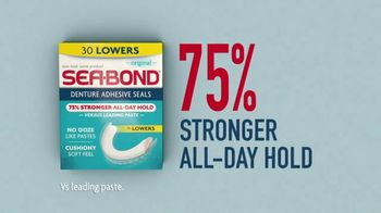 Sea Bond Denture Adhesive Seals TV Spot, 'Ribs' - Thumbnail 5